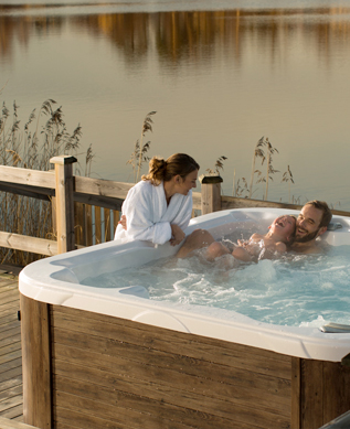 dimension one spas i heart hot tubs. Black Bedroom Furniture Sets. Home Design Ideas