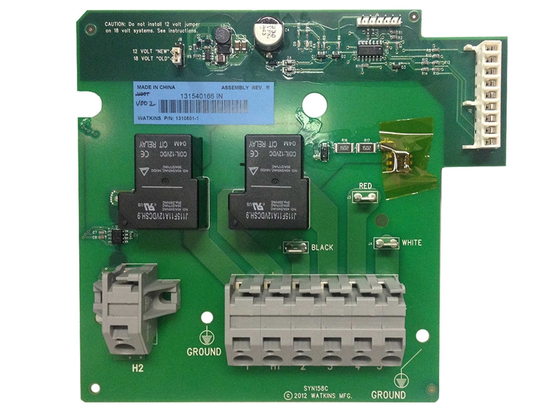 Caldera Spas Iq 2020 Heater Relay Board W Jumpers