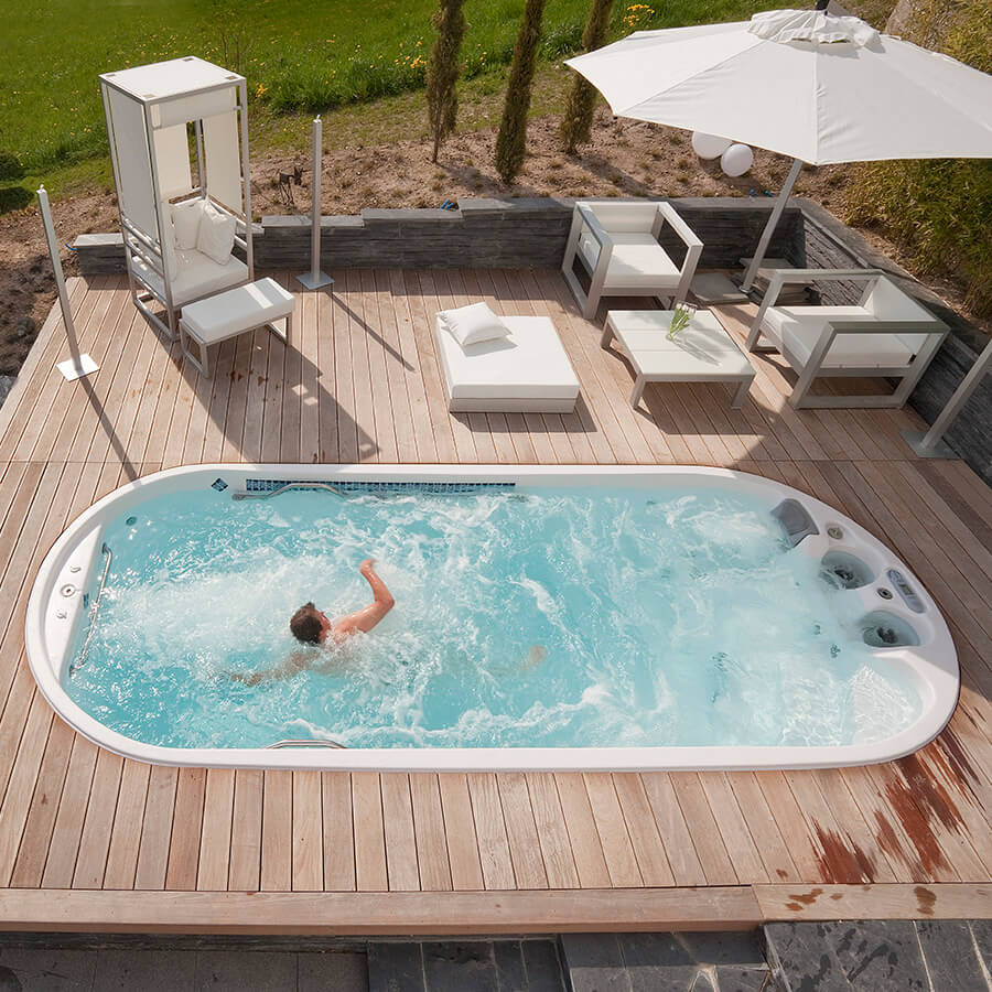 Dimension One Spas at I Heart Hot Tubs